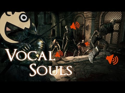 So I replaced ALL sounds in Dark Souls 3 with my Voice...