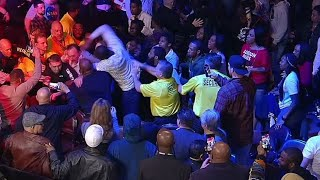 WOW!!! RIOT BREAKS OUT AT THE ANDY RUIZ VS CHRIS ARREOLA FIGHT!