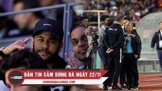 Bản tin Cảm Bóng Đá ngày 22/11 | Neymar tiếp tục gây rắc rối; Trợ lý ĐT Thái Lan lên tiếng xin lỗi