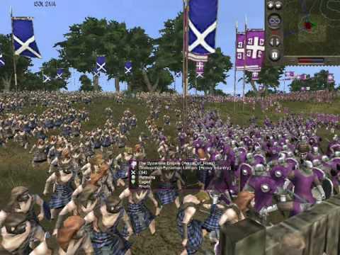Medieval II Online Battle #36: Byzantines vs Scotland