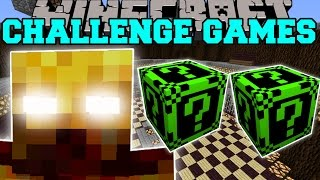 Minecraft: BLAZE KNIGHT CHALLENGE GAMES - Lucky Block Mod - Modded Mini-Game
