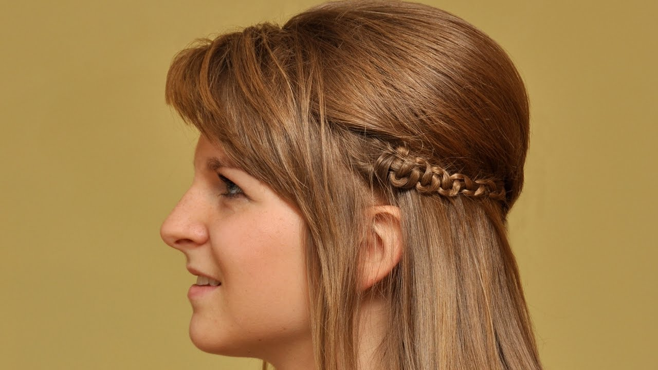Hairstyles Braids Youtube: Simple Braided Hairstyles