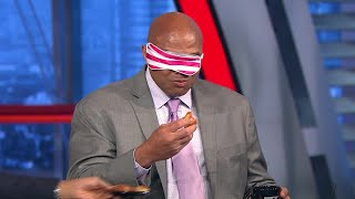 Inside the NBA: Chuck Tests His Donut Skills