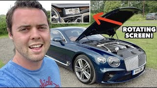 AMAZING FEATURES OF THE $225,000 '19 BENTLEY CONTINENTAL GT!
