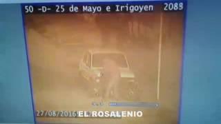 El robo de una moto en tiempo real