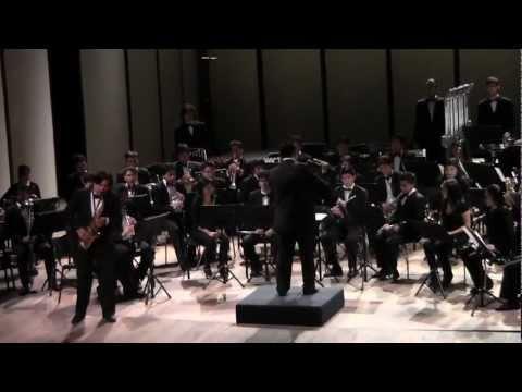 Claude T. Smith: Fantasía para Saxo (Jonathan García - Conductor: Allan Lavalle Terry)