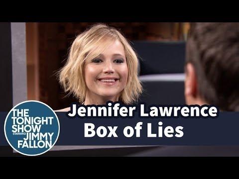 Jennifer Lawrence and Jimmy Play Box of Lies