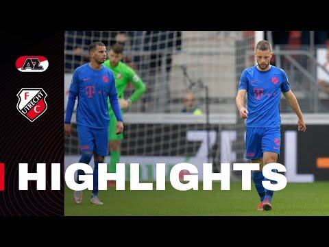 HIGHLIGHTS | AZ - FC Utrecht
