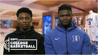 Duke's Zion Williamson and RJ Barrett 'locked in' for NCAA tournament | ESPN Bracketology