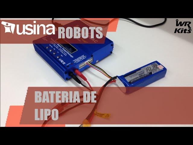 COMO CARREGAR UMA BATERIA DE LIPO | Usina Robots #006