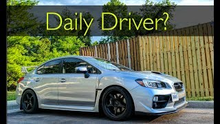 DAILY DRIVING  a WRX STI on COILOVERS?