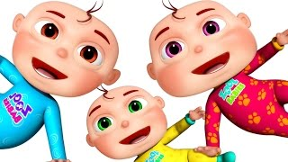 Ten Little Babies | Learn Counting | 3D Rhymes & Baby Songs | Learning Songs For Kids