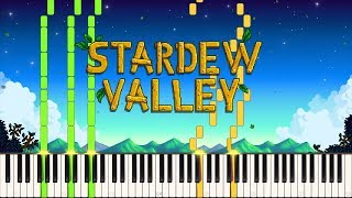 Spring (It's A Big World Outside) - Stardew Valley [Piano Tutorial] (Synthesia)
