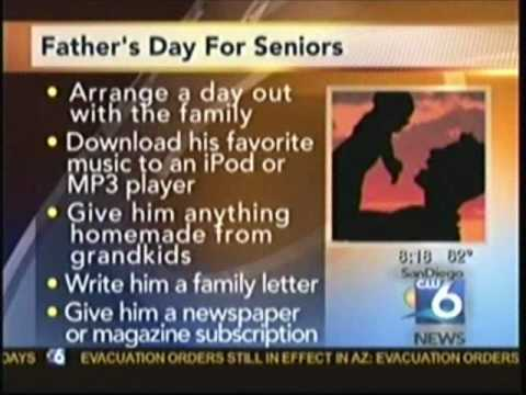 CARING FOR SENIORS ON FATHERS DAY  ELDERHELP