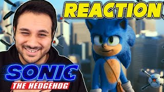 3 FULL Sonic Movie Clips - REACTION