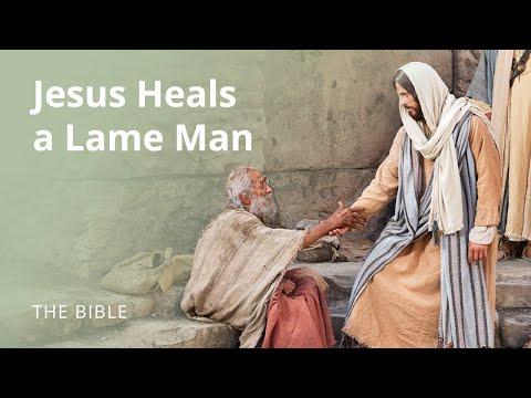 Jesus Heals A Lame Man On The Sabbath Youtube