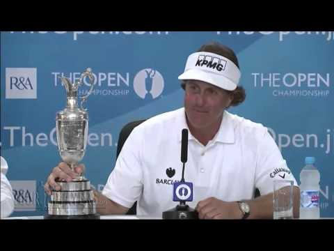 Phil Mickelson: 2013 Open Championship - Winner Part 1 - YouTube