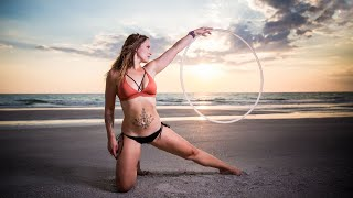 Beach Hooping Drone Video