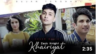 Tribute to Sushant Singh Rajput – Zack Knight Video HD
