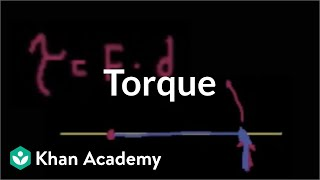 Introduction to torque | Moments, torque, and angular momentum | Physics | Khan Academy