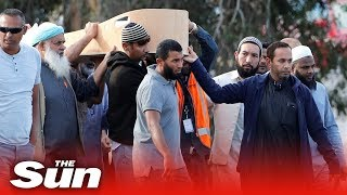 New Zealand begins to bury victims from Christchurch shooting