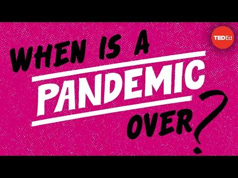 Кога се означува крајот на една пандемија?