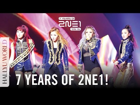 7 Years with 2NE1 (2009-2016): Achievements and Disbandment