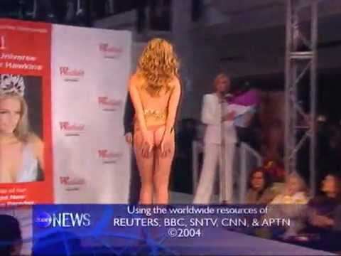 OOPS! Skirt Falls Down on catwalk - Miss Universe ...