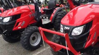 #1 TYM Dealer in the US.  Quick description of TYM tractor lineup.