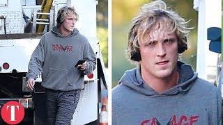 Logan Paul's SAD Life After The Controversial Video (BANNED, WANTED By Police)