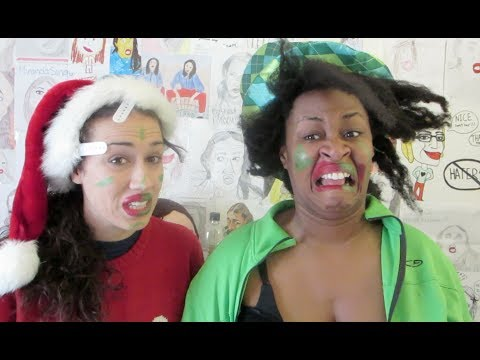 BABY IT'S COLD OUTSIDE - GloZell And Miranda - Smashpipe Comedy