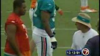 Coach Saban Makes Manuel Wright Cry (2005)