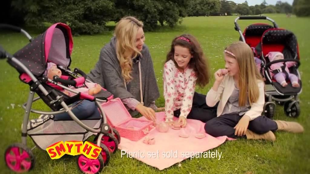 Dolls Strollers Dimples Stroller And Kate Tandem