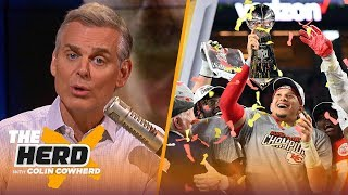 Colin Cowherd reacts to the Chiefs' Super Bowl LIV victory against the 49ers | NFL | THE HERD