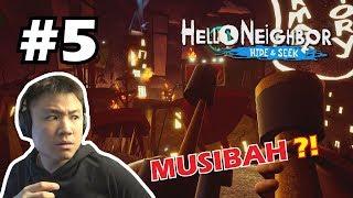 SUASANA SEMAKIN PANAS !! - Hello Neighbor Hide and Seek [Indonesia] #5