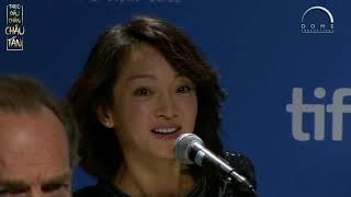[Vietsub] Phỏng vấn Châu Tấn tại họp báo ra mắt phim Vân Đồ (2012)
