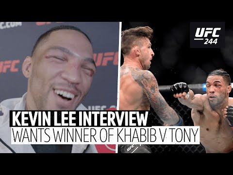 Kevin Lee: I want the winner of Khabib v Tony Ferguson!