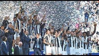 Juventus - Crotone 3-0 (21.05.2017) 18a Ritorno Serie A (Ampia Sintesi + Festa Scudetto).
