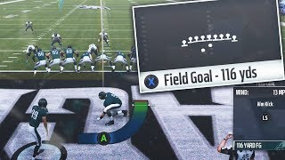 What's The Longest Possible Field Goal You Can Make in Madden 19?