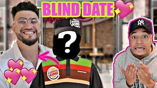 I Set MY FRIEND On A BLIND DATE With A FAST FOOD Employee (HIS NEW CRUSH) *I Think She Likes Me...*