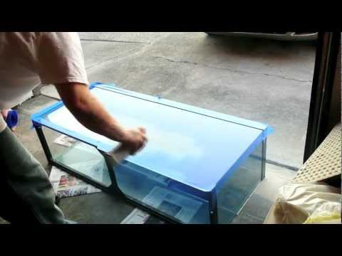 How To Spray Paint Your Fish Tank