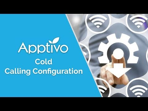 Setting Up Apptivo for Cold Calling Efficiency