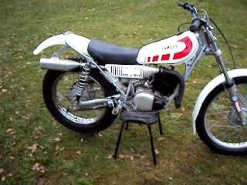 yamaha ty 175 trials bike for sale on ebay 13 11 2010. Black Bedroom Furniture Sets. Home Design Ideas