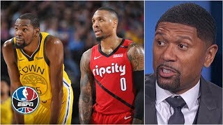Blazers have a 'puncher's chance' if Kevin Durant misses more games – Jalen Rose | After the Buzzer