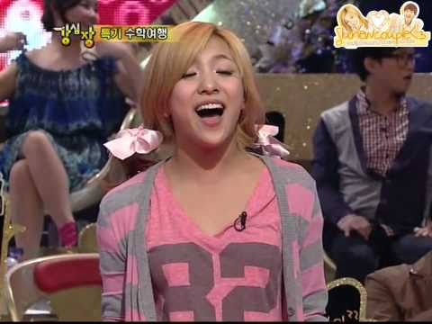 [cut] f(x) Luna performs Legally Blonde + Onew in the back & SUJU