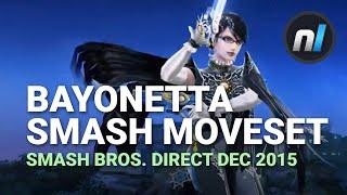 Bayonetta Full Smash Bros. Moveset & Fighter Trailer