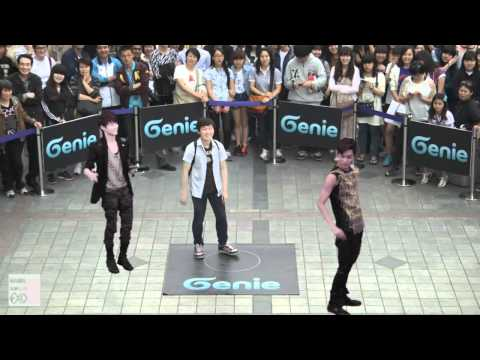 EXO-K _ AR SHOW with Genie(2012.05.12.) _ S05 'One point lesson with SUHO & KAI' in Seoul, Korea (2)