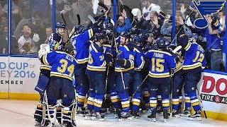 St. Louis Blues Playoff Overtime Goals (Up until 2018)