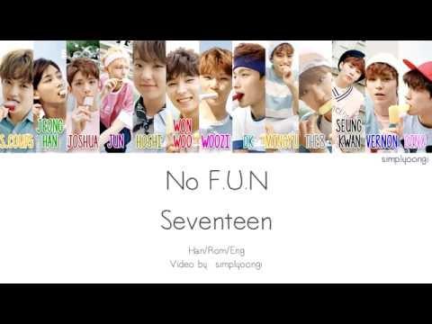 SEVENTEEN [세븐틴] - No F.U.N (Color Coded Lyrics | Han/Rom/Eng)