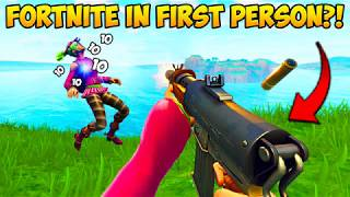 FORTNITE IN 1ST PERSON! - Fortnite Funny Fails and WTF Moments! #236 (Daily Moments)
